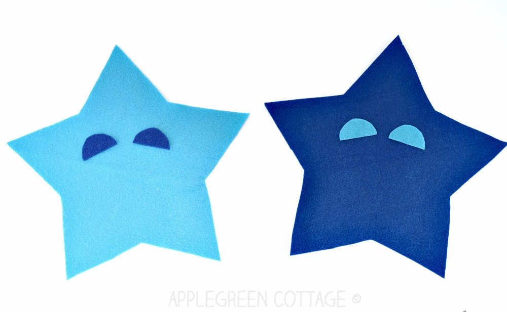 how to make a star plushie