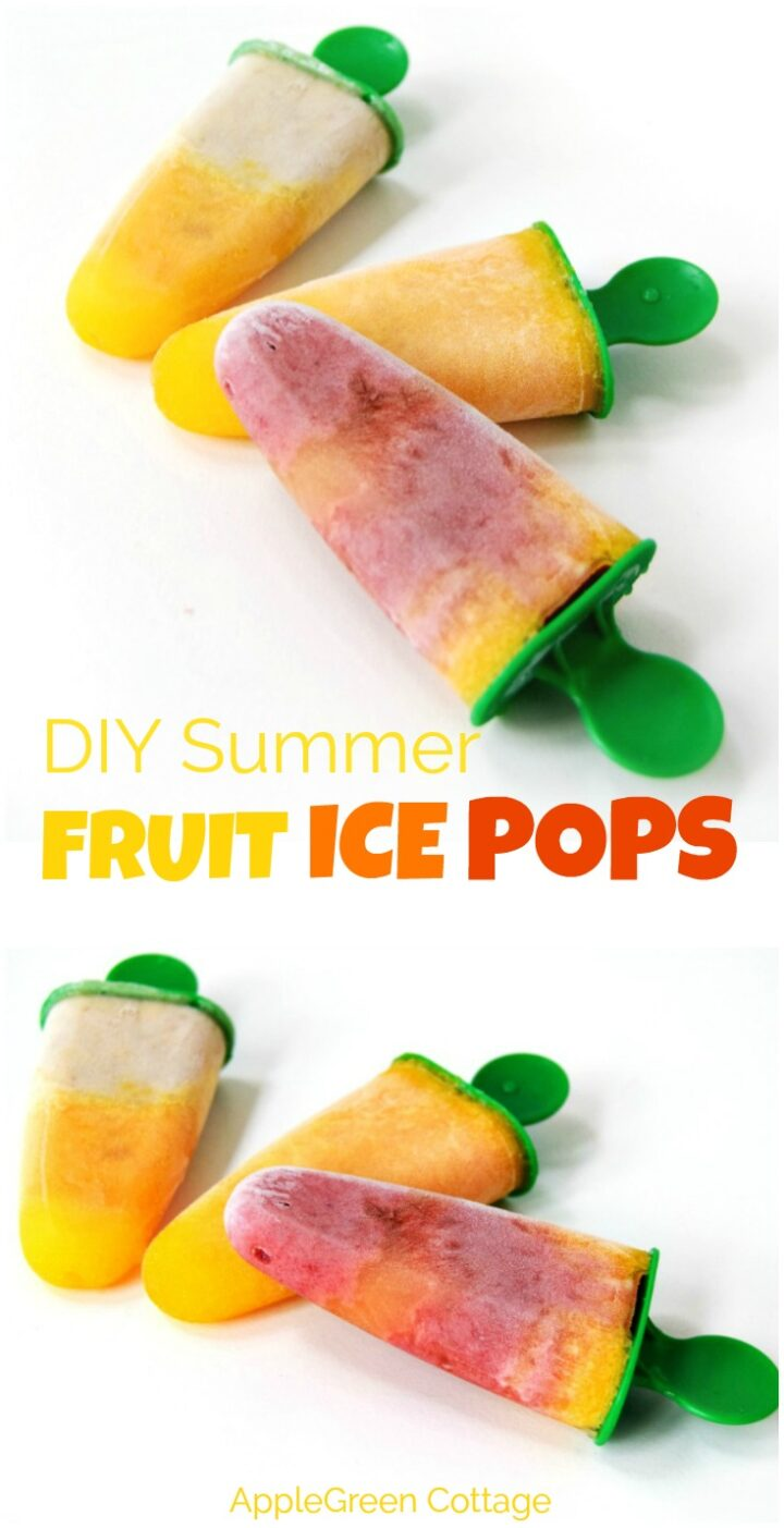 How To Make Fruit Ice Pops This Summer