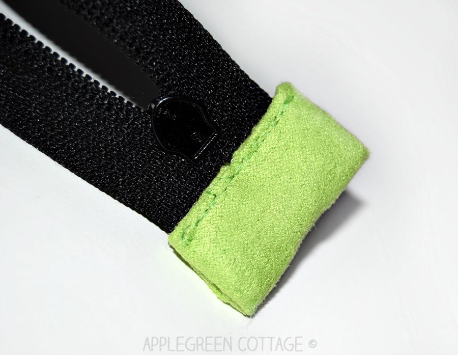 diy makeup bag with zipper