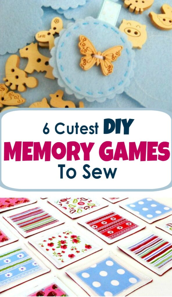 list of best diy memory games to sew