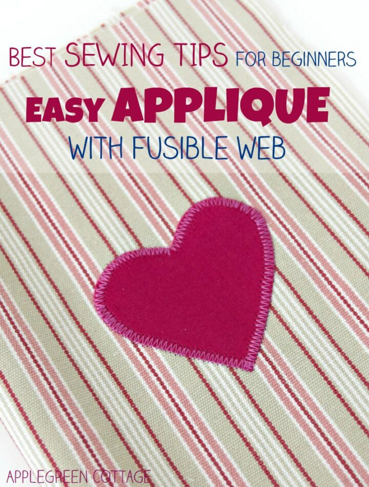 How To Applique With Fusible Web
