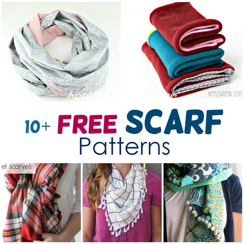 free scarf sewing patterns