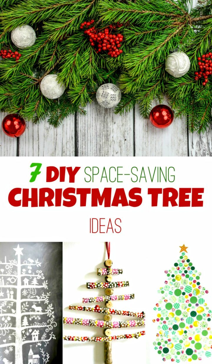 7 Christmas Tree Ideas For Small Spaces