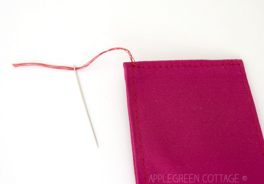 thread visible on stitching