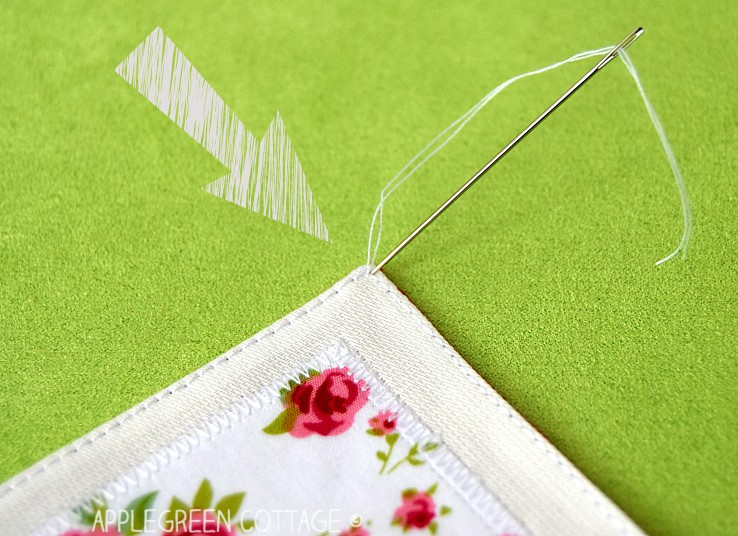 how to finish sewing