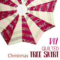 How to make a quilted tree skirt