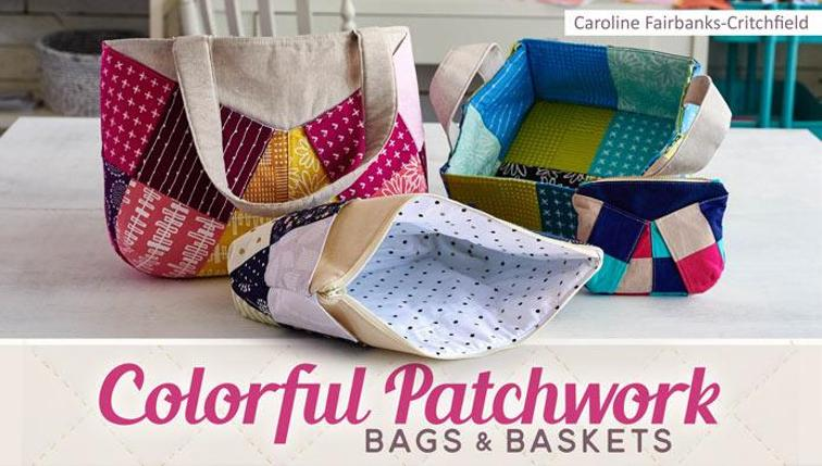 online sewing classes for baskets and bags