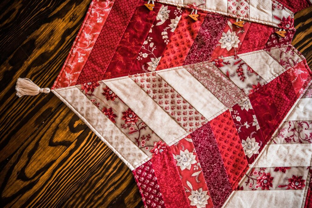 online sewing classes for tree skirt