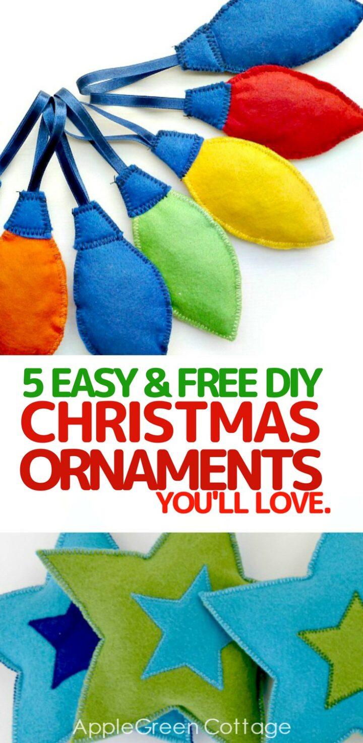 5 Easy Christmas Tree Ornaments You'll Love