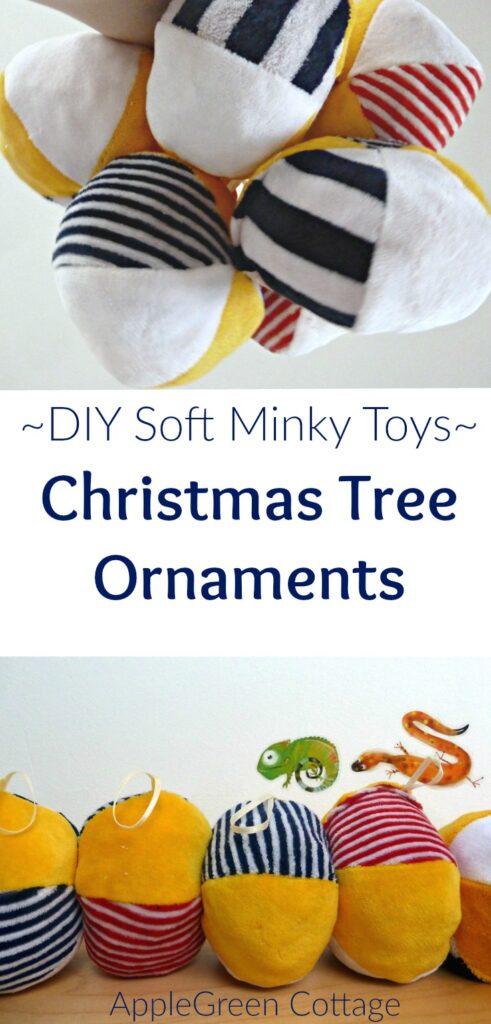 Easy Christmas tree ornaments DIY