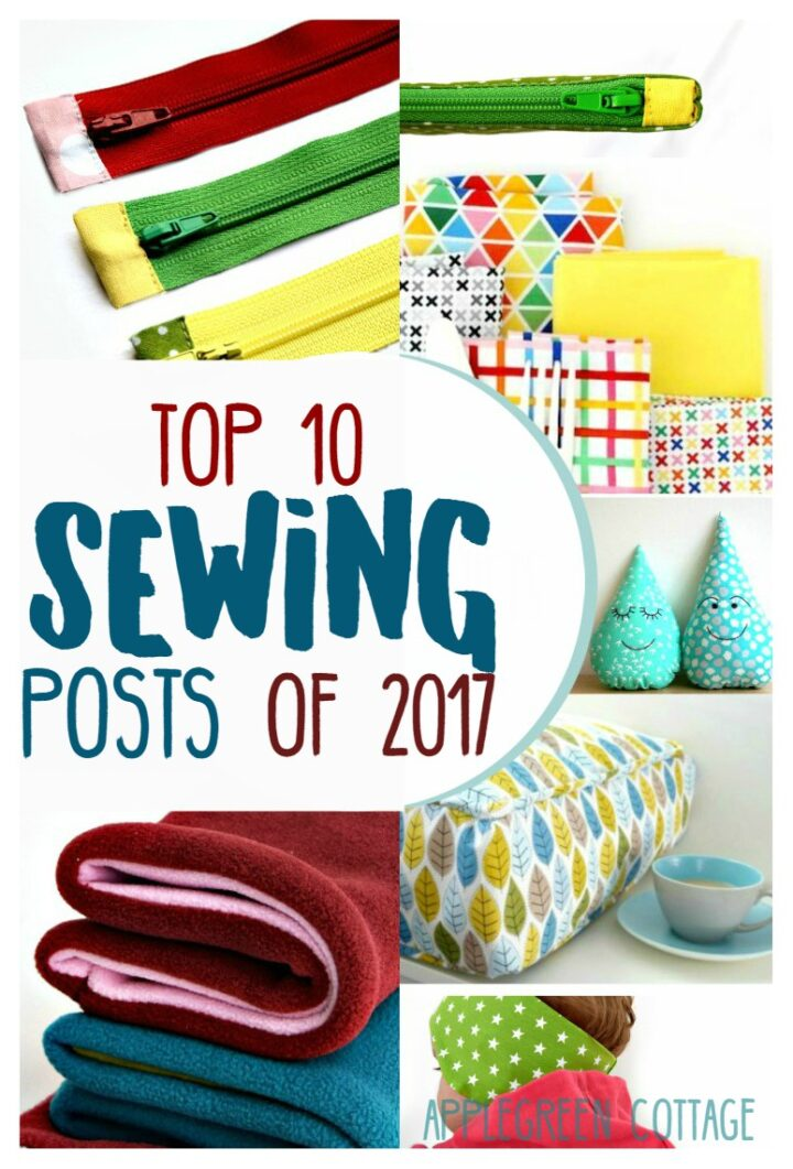 Top 10 Sewing Posts of 2017