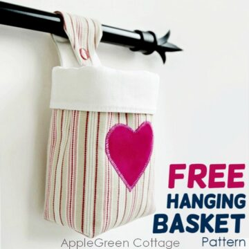 How To Make A Hanging Storage Basket
