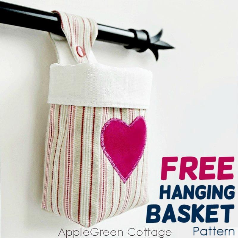 free hanging basket pattern