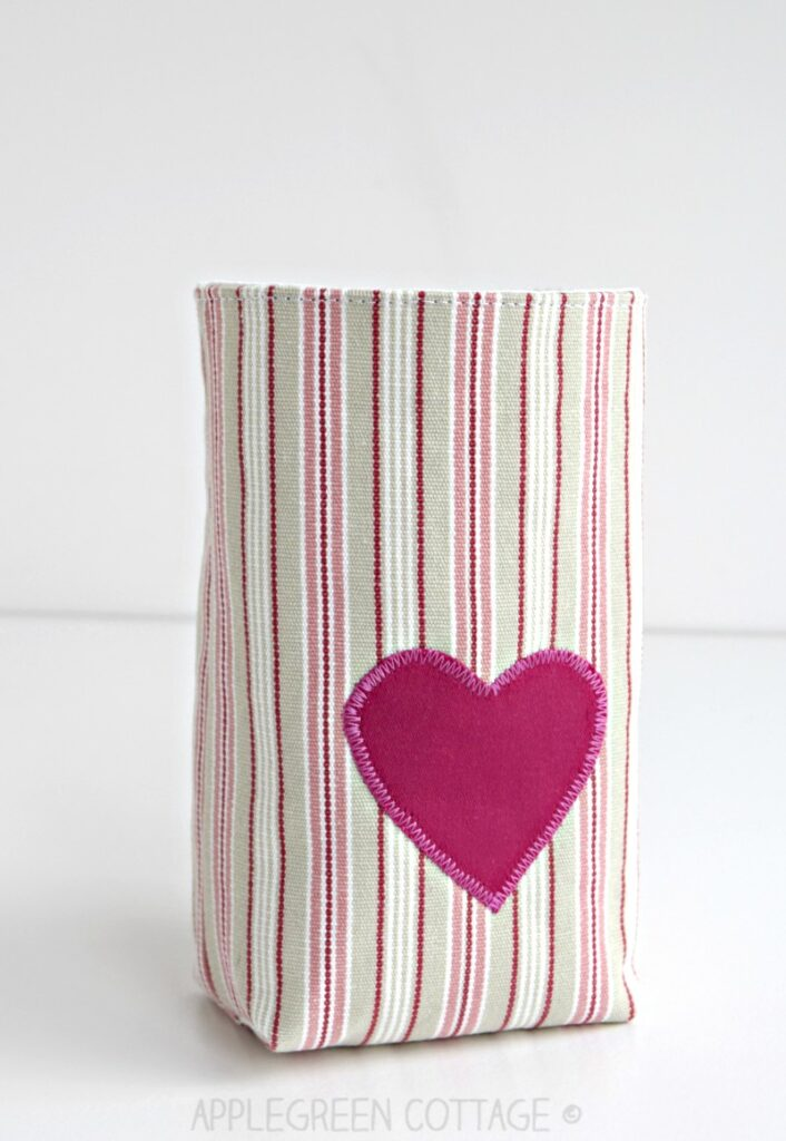 free sewing pattern for small basket