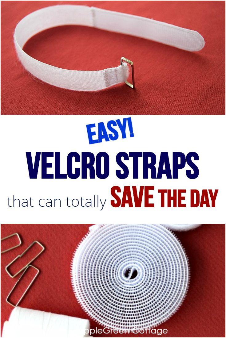 diy velcro straps