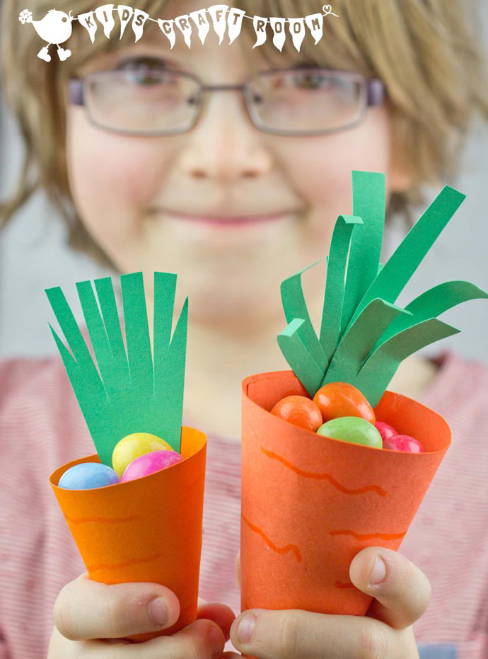 carrot basket craft