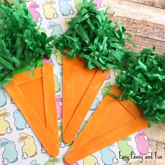 paper carrot craft