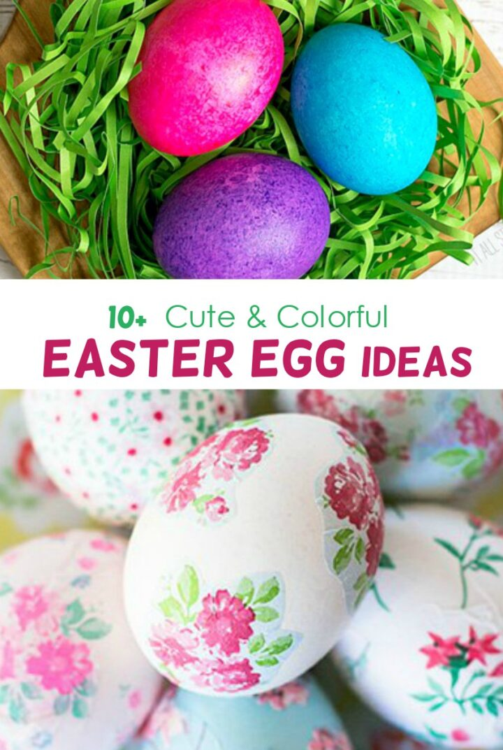 10+ DIY Easter Egg Decorating Ideas To Try out Now
