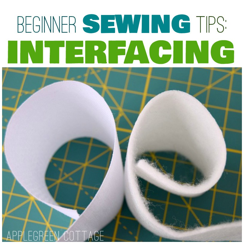 interfacing in bag sewing