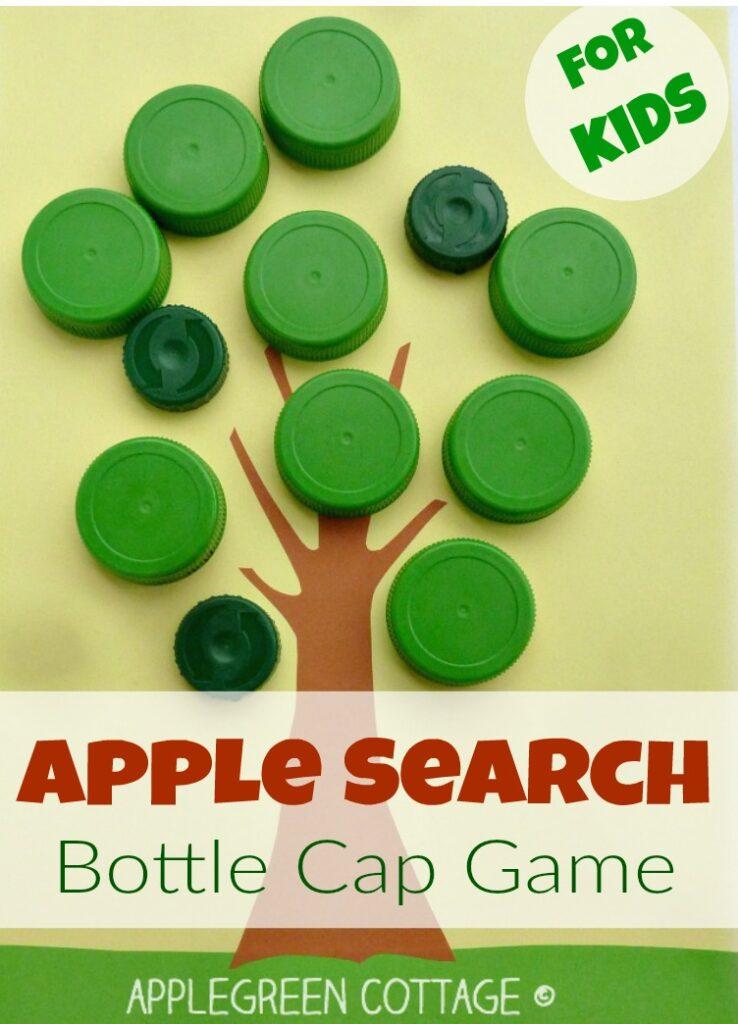 Bottle Cap Activity for Kids – Apple Search