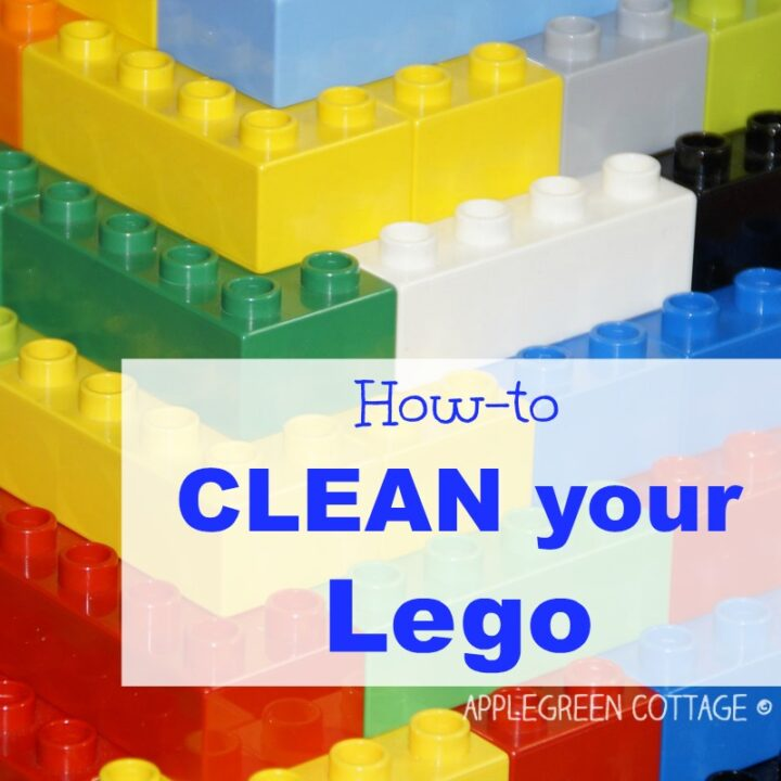 How To Clean Legos - 2 Easy Ways!