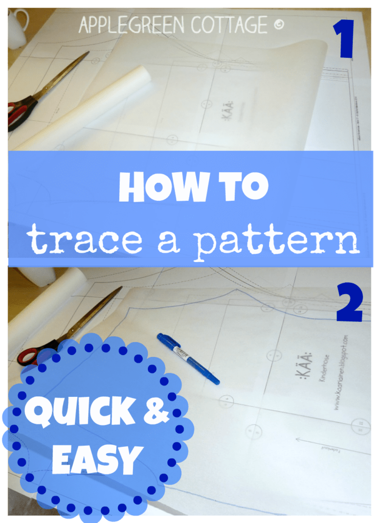 How To Trace A Sewing Pattern From A Template – 6 Smart Ways To Do that