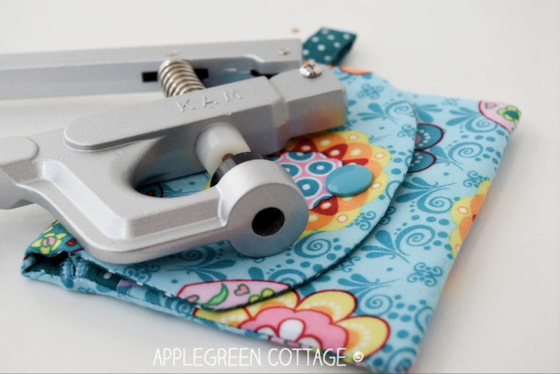 How to install kam snaps and add snaps to any of your sewing projects. Easy and quick!