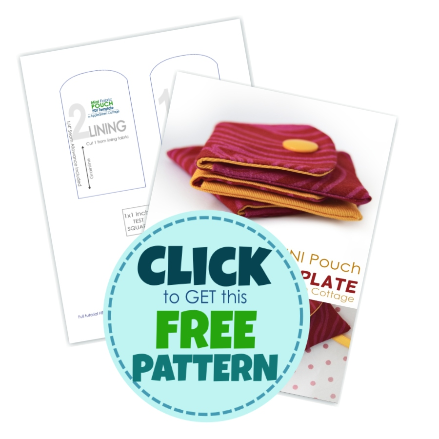 get small pouch pattern