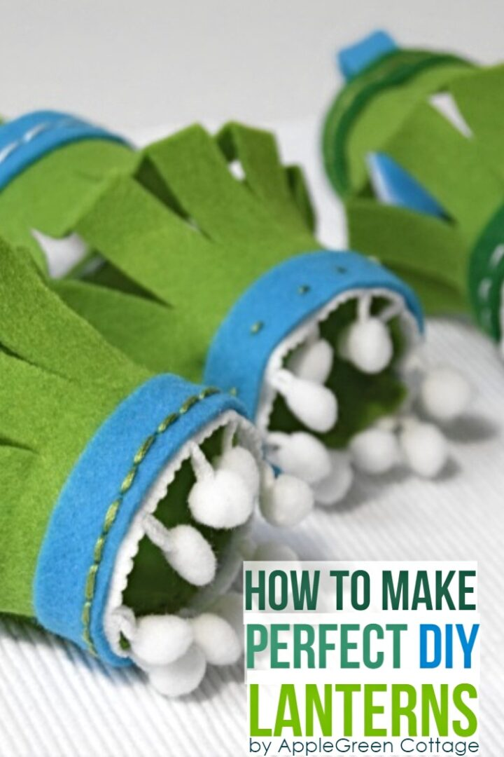How To Make A Lantern - With Felt!