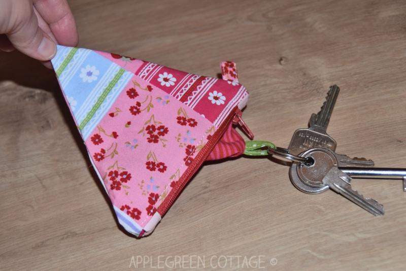 diy key pouch