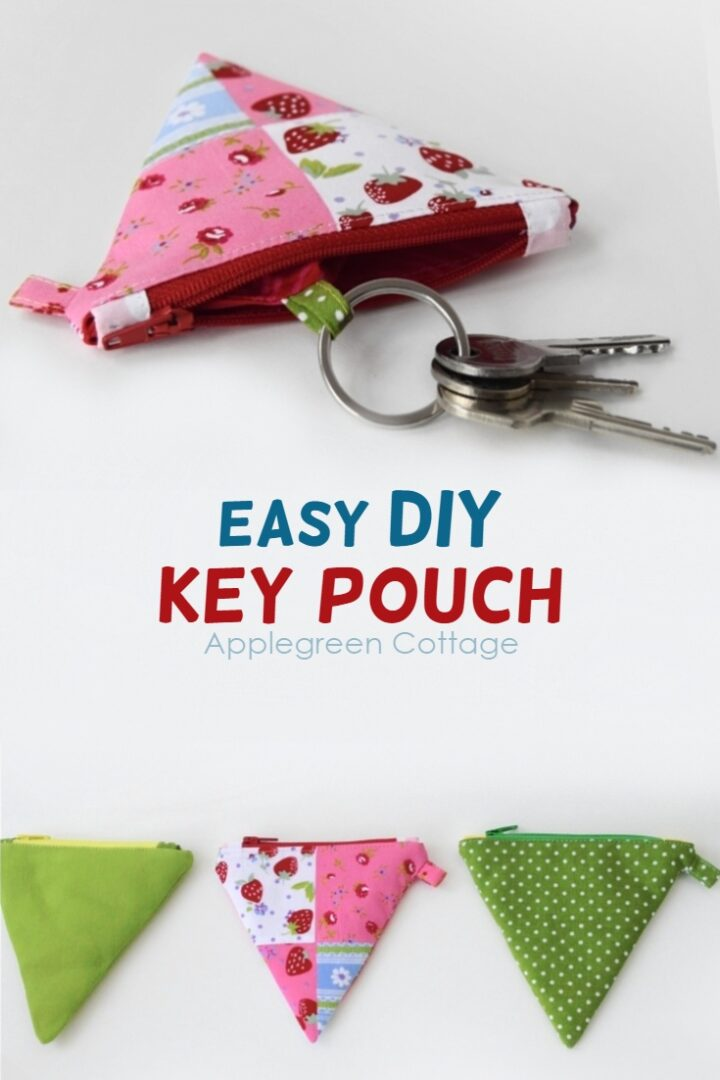 How To Make A Diy Key Pouch From a Coin Purse
