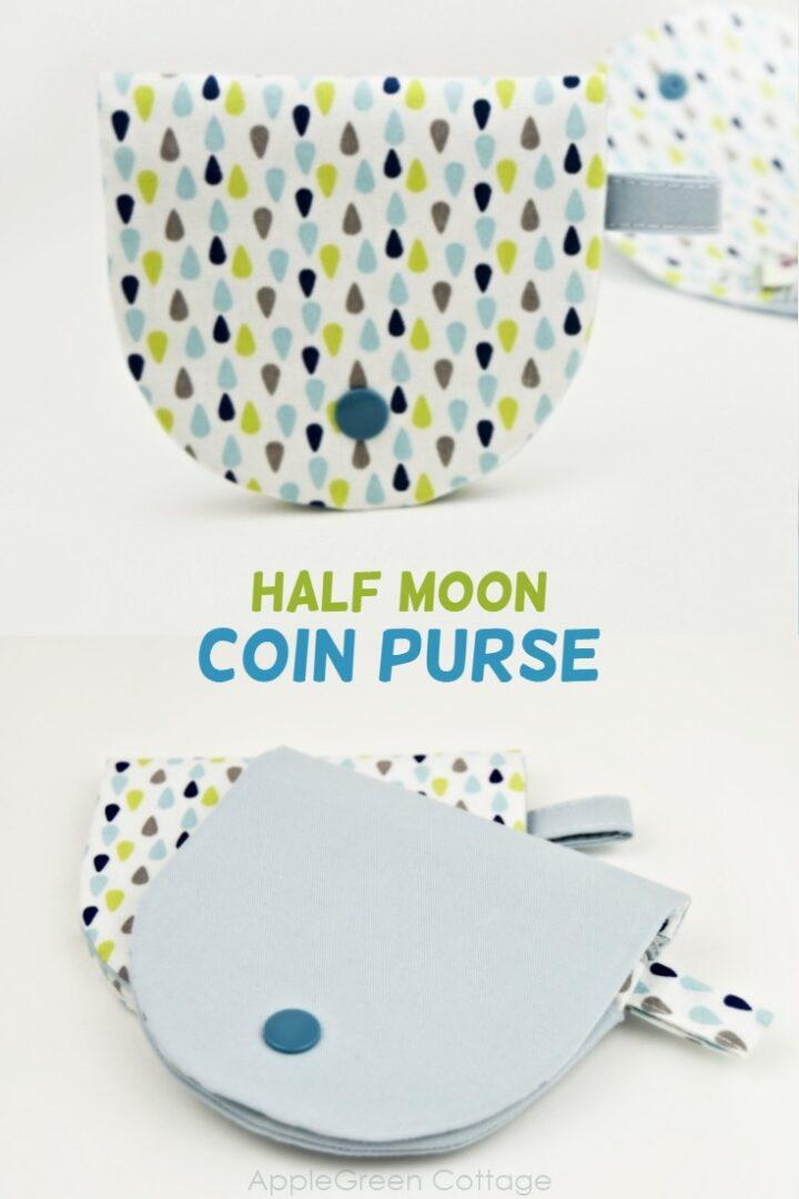 Half Moon Purse Pattern - All the Beautiful Versions