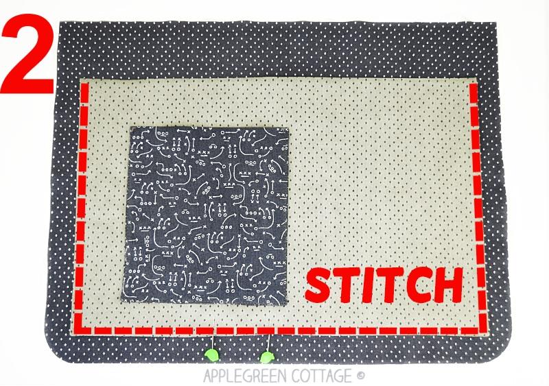 messenger bag to sew