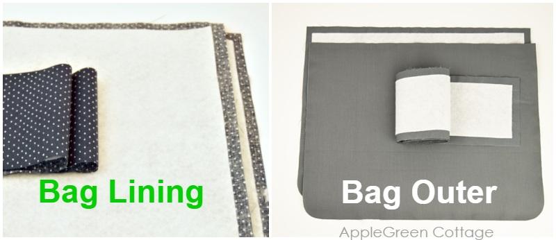 messenger bag pattern with pockets