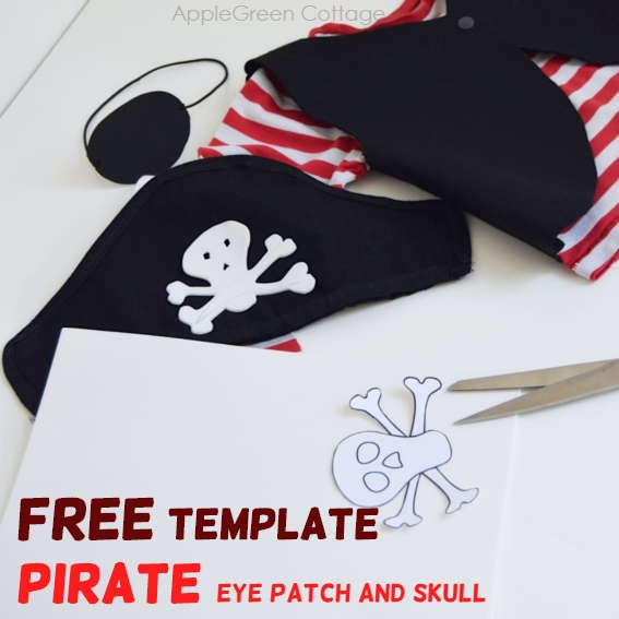 diy pirate eyepatch