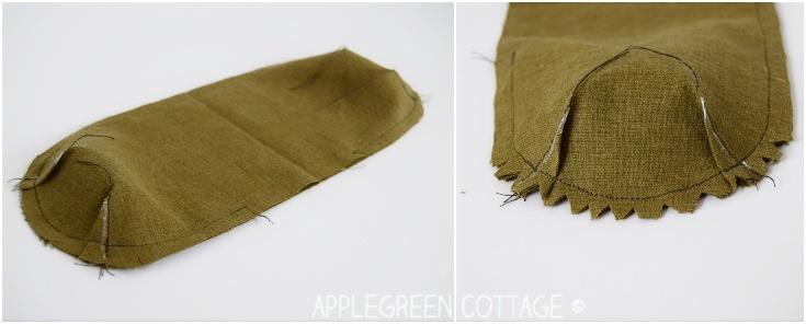 seam roll sleeve roll - free pattern