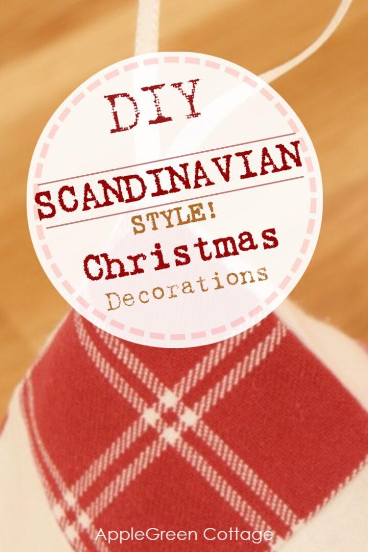 Scandinavian Christmas Decorations - Scandi Style!