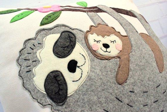 sloth sewing