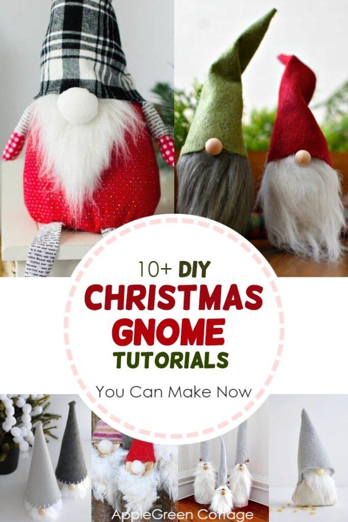 Christmas gnome diy tutorials