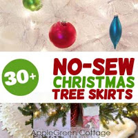 no sew tree skirts