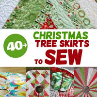 sewing christmas skirts