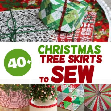 40+ Christmas Tree Skirt Pattern Ideas To Sew