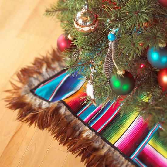 Christmas tree skirt diy