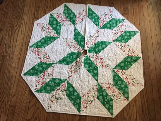 tree skirt to make for holidays