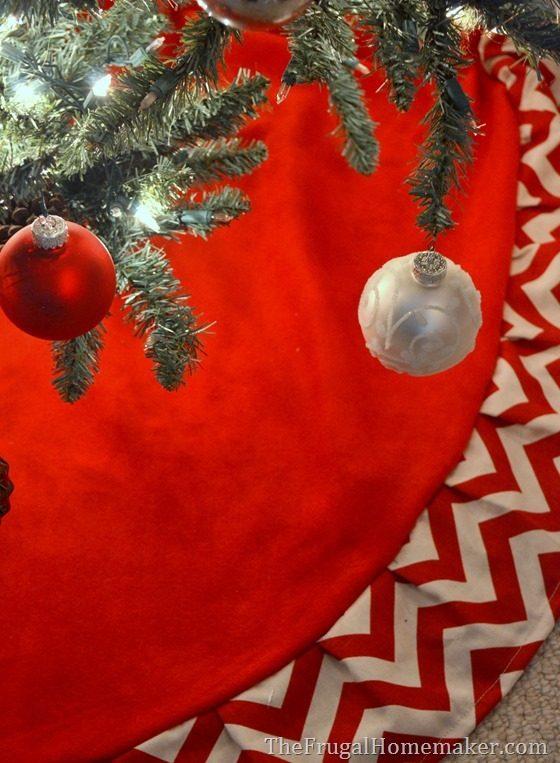 tree skirt to sew