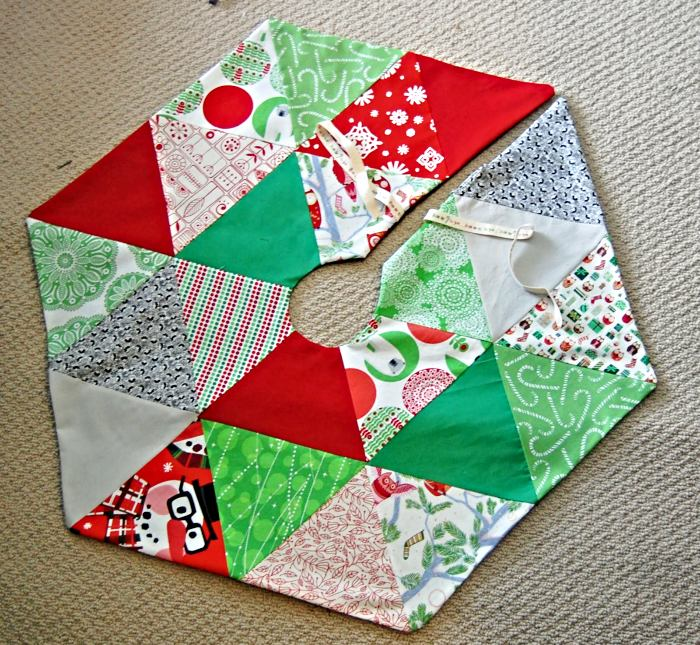free pattern for quilted tree skirt