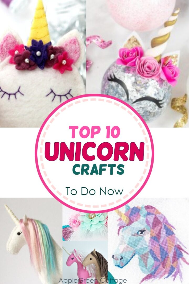 Top 10 Unicorn Crafts To Make Now