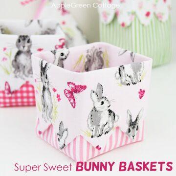 diy easter baskets and pattern bundle