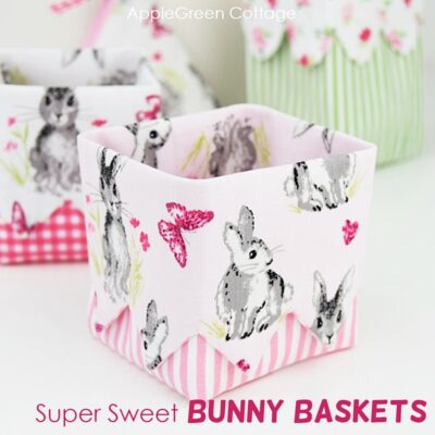 diy easter baskets and pattern bundle