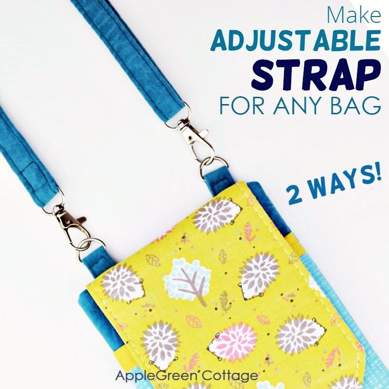 how to make adjustable strap